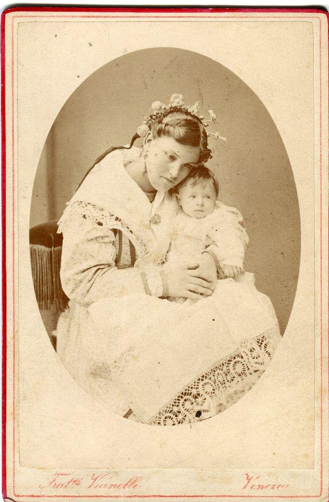 Ugo levi e la madre, fotografia